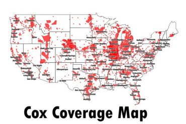 Cox Coverage Map